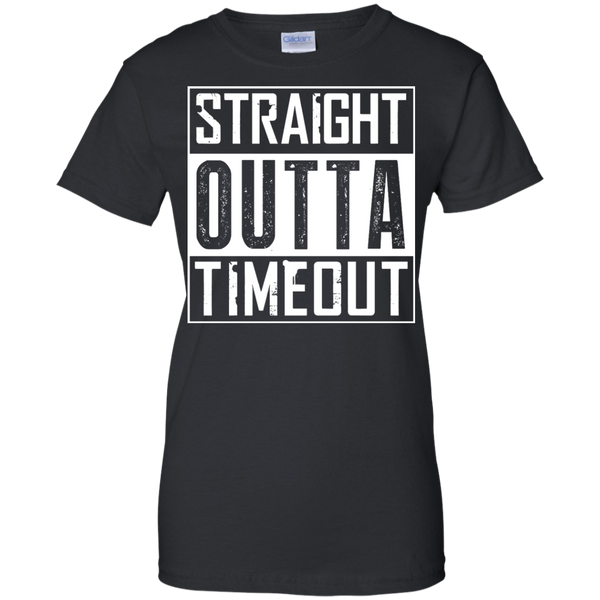 Autism - Straight Outta Timeout - Adult Sizes