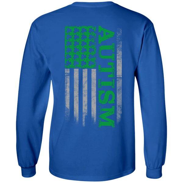 Autism St. Patrick's Day Green Flag Shirt