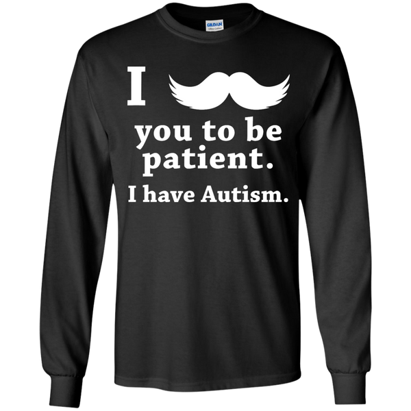 Autism Youth - Mustache You To Be Patient