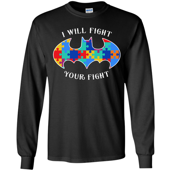 Autism Bat - I Will Fight Your Fight - Youth Sizes