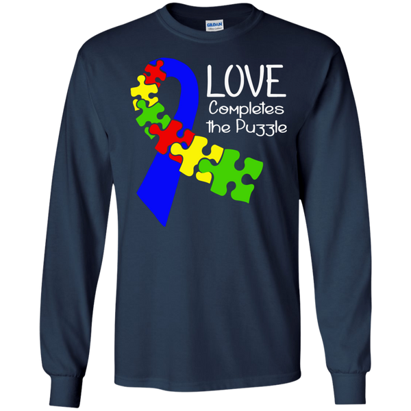 Autism - Love Completes The Puzzle
