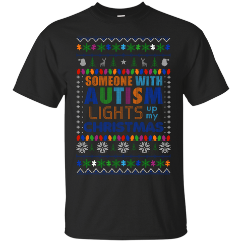Autism - Someone Lights Up My Christmas