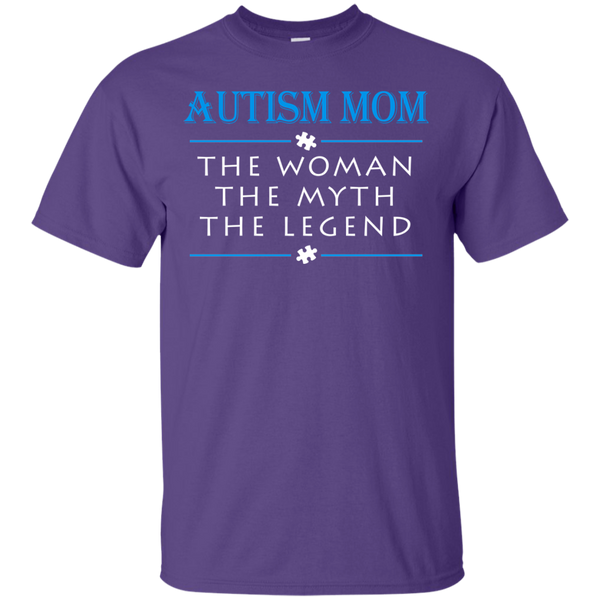 Autism Mom - The Woman Myth Legend
