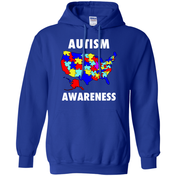 Autism Awareness America - United States Puzzle Pieces