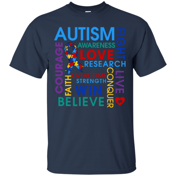 Autism Fight Love Believe Awareness