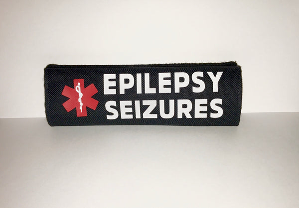 Epilepsy Seizures Alert Safety Seatbelt Cover