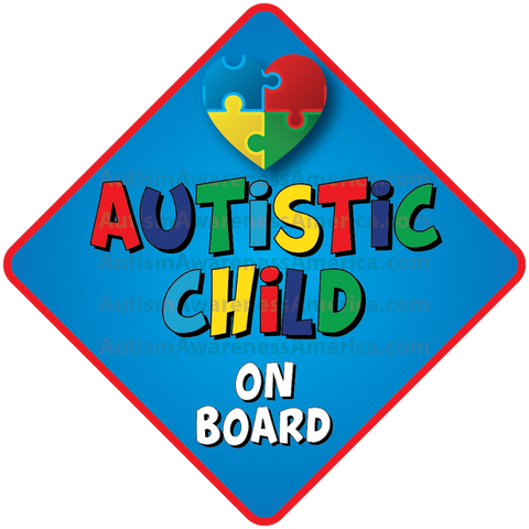 Autistic Saftey Car Truck Decal Sticker