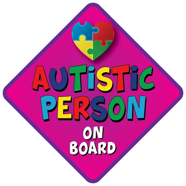 Autistic Safety Car Truck Decal Sticker