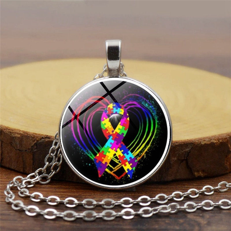 Autism Awareness Definition Necklace - FULL OF LIFE - FREE SHIPPING!