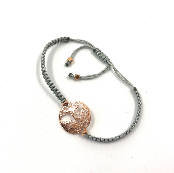Grey Tree of Life bracelet - TheShopster