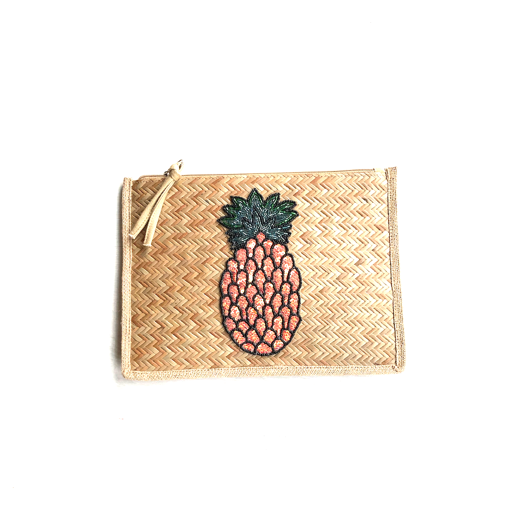 Pinneapple straw pouch - TheShopster