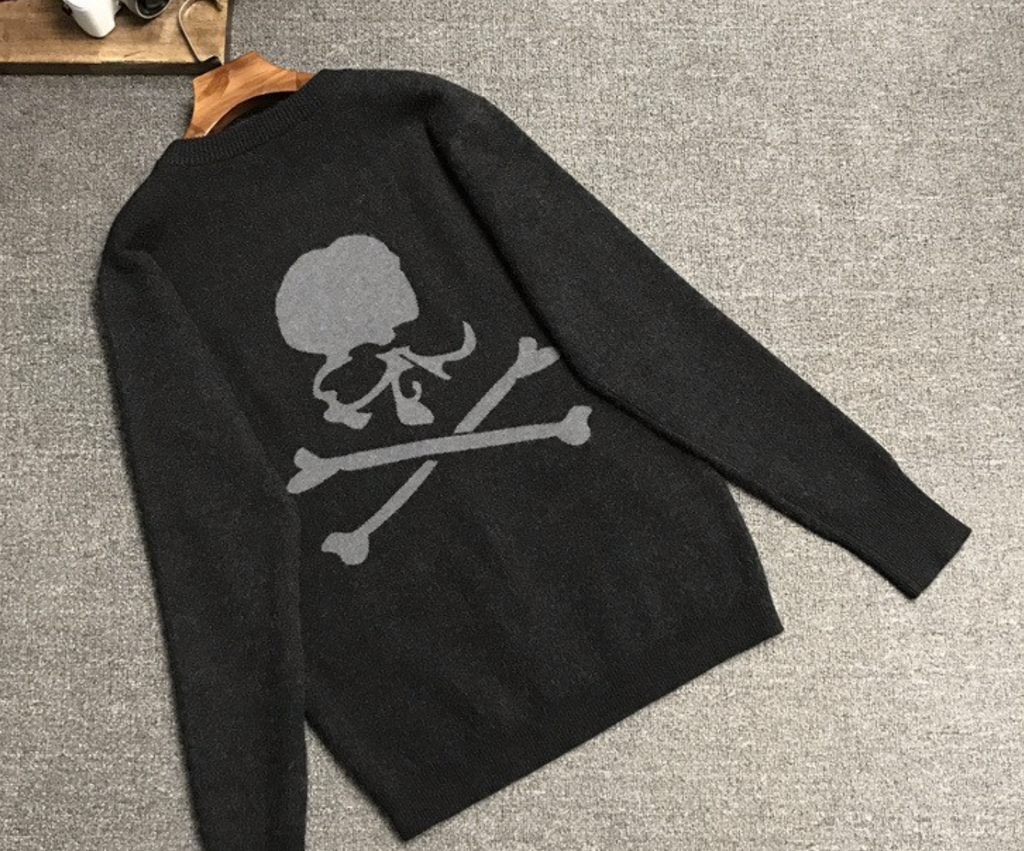 Black & grey skull - TheShopster
