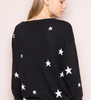 Black & white stars sweater - TheShopster