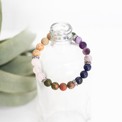 Labor + Birth Natural Gemstone Bracelet