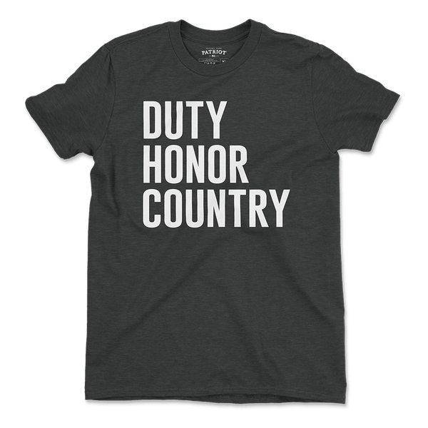 Duty Honor Country