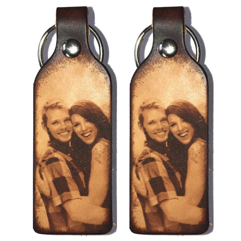 Create Your Own Leather Keychain - Love Chirp Gifts