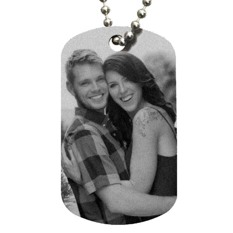 Create Your Own Dog Tag Necklace - Love Chirp Gifts