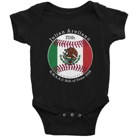 Julian Arellano Custom Baby Onesie - Love Chirp Gifts