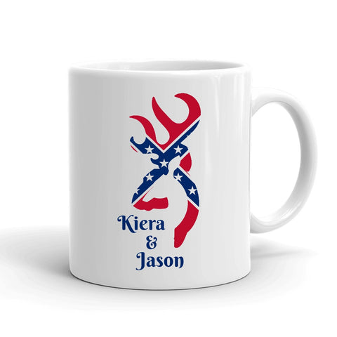 Personalized Rebel Buck Mug - Love Chirp Gifts