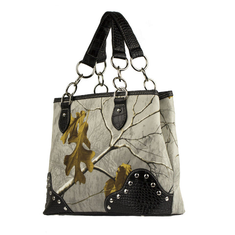 Realtree Camo Handbag in Snow White - Love Chirp Gifts