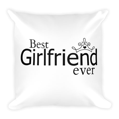 Best Girlfriend Pillow - Love Chirp Gifts
