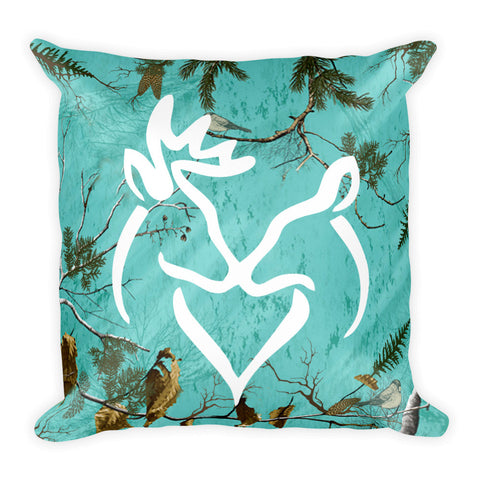 Buck and Doe Pillow - Love Chirp Gifts