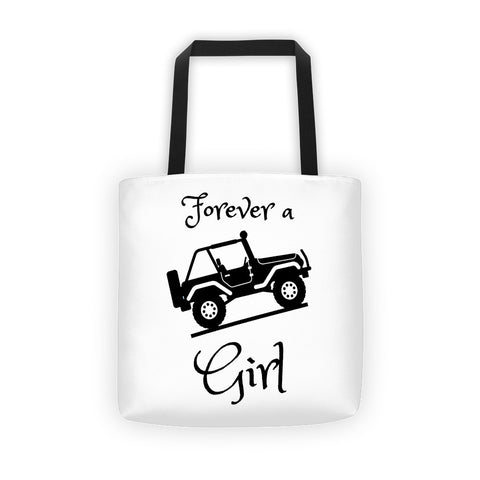 Jeep Girl Tote bag - Love Chirp Gifts