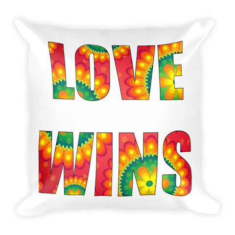 Love Wins Pillow - Love Chirp Gifts