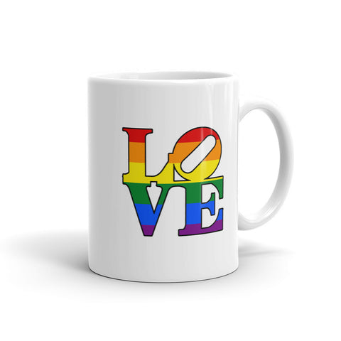 Rainbow Love Mug - Love Chirp Gifts