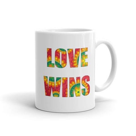 Love Wins Mug - Love Chirp Gifts