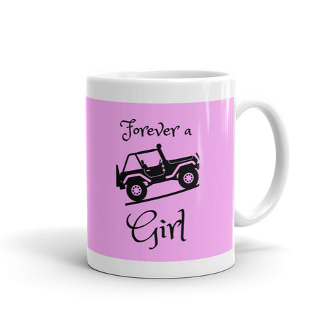 Forever a Jeep Girl Mug - Love Chirp Gifts