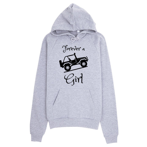 Forever a Jeep Girl Hoodie - Love Chirp Gifts