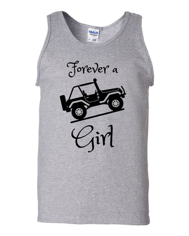 Jeep Girl Tank top - Love Chirp Gifts