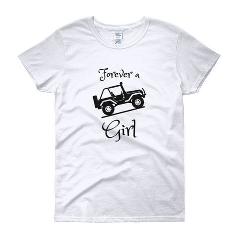 Forever a Jeep Girl Women's T-shirt - Love Chirp Gifts