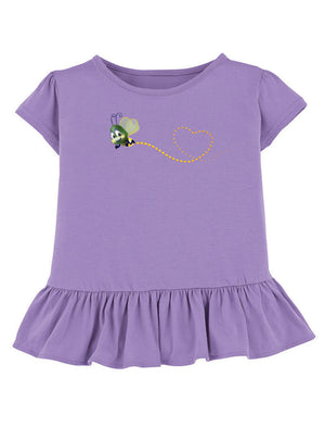 Ruffled Flash the Firefly Heart Trail Tee