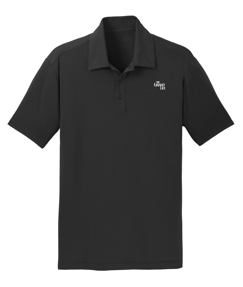 Mens The Grand Life Embroidered Polo