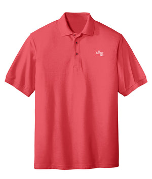 Mens The Grand Life Pique Embroidered Polo