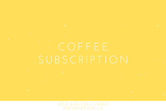 Coffee Subscription - Third Wave Coffee