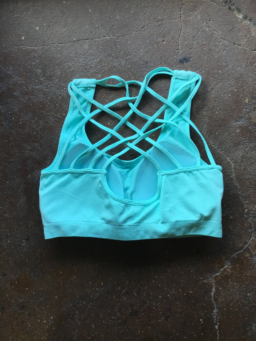 Turquoise or Corral Sports Bra