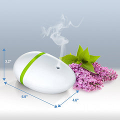 Essential Oil Diffuser Riverock, Aromatherapy Oil Spa Humidifier and Ultrasonic Mister,