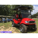 Golf Cart 2014 Club Car Precedent Golf Cart Custom Red Alpha Body With Off-Road Grill Car