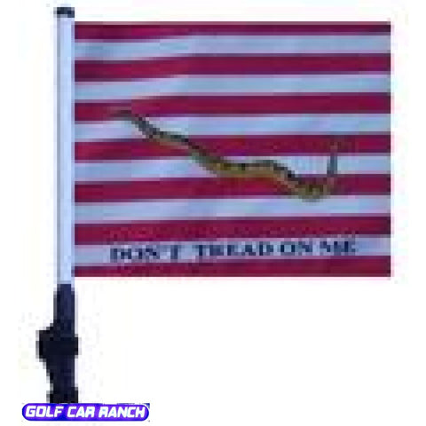 First Us Navy Jack Golf Cart Flag