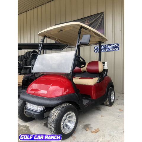 2013 Ruby Red Club Car - Refurbished Ph1318-364204 Golf Cart