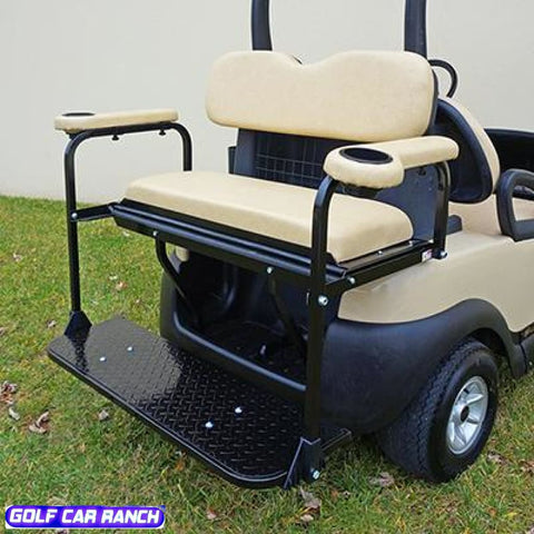 Club Car Precedent Rear Seat Kits - Best Price Economy Beige / Kit