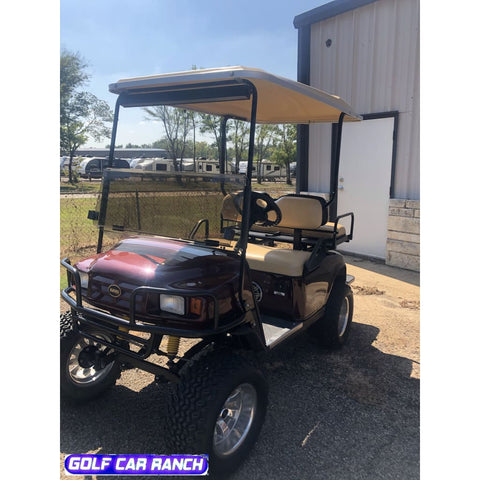 E-Z-Go Txt Gas 4 Passenger Lifted -Used 2007- Golf Cart By Golf Car Ranch Golf Cart