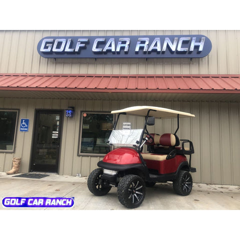 2011 Ruby Red Club Car - Gas Refurbished Golf Cart