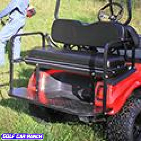 Club Car Ds Rear Seat Kits - Best Price Economy Black / Kit