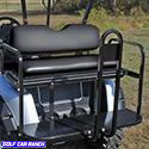 Ezgo Rxv Rear Seat Kits - Best Price Economy Black / Kit