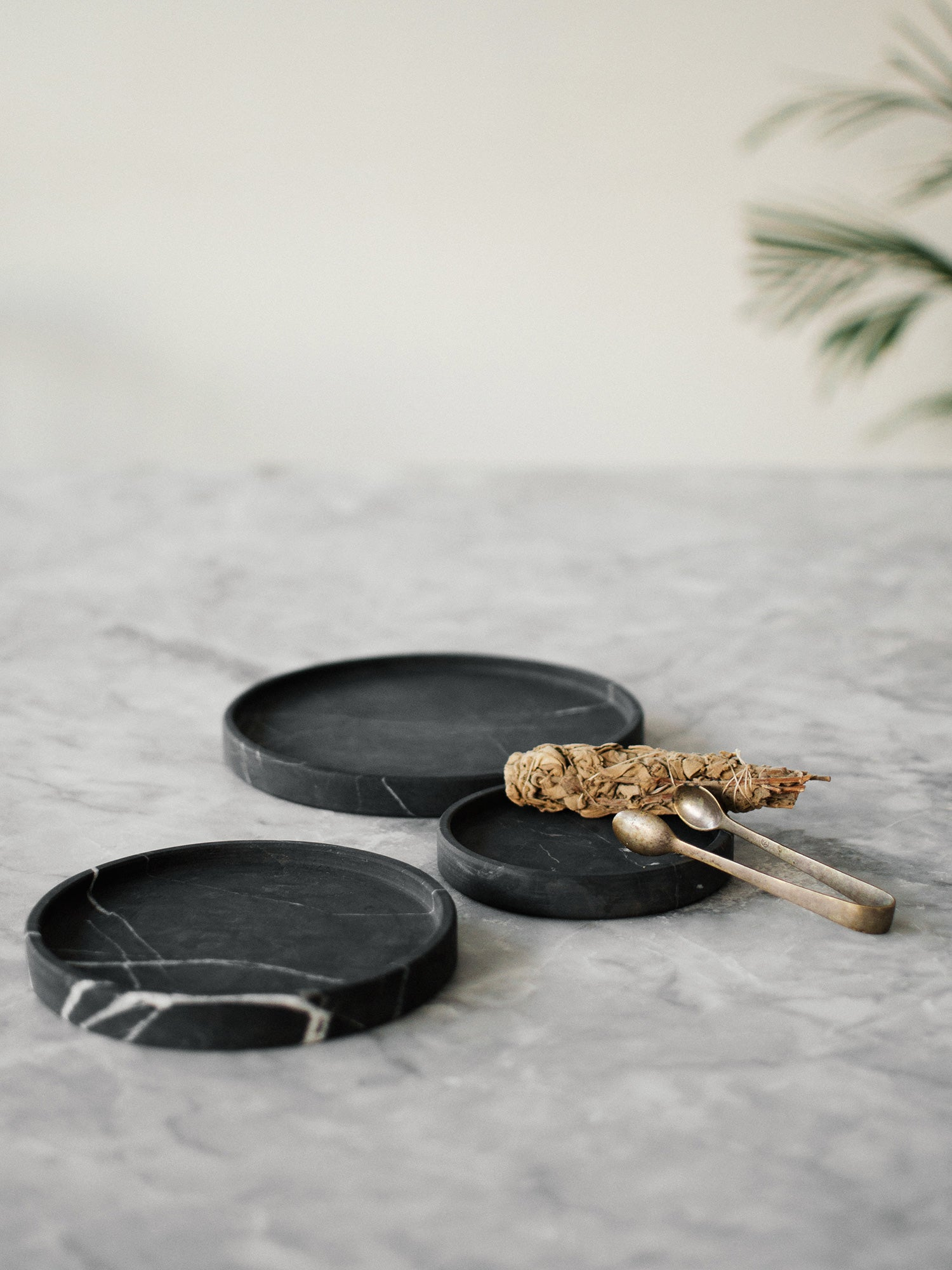 Marble Plate Set