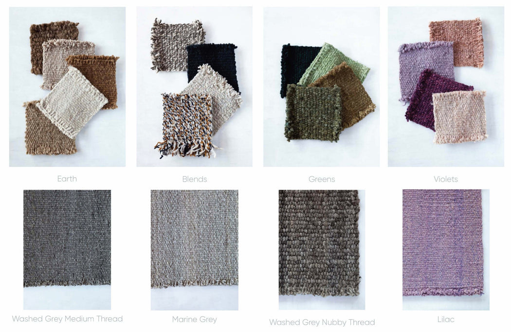 Awanay Rug Color Chart